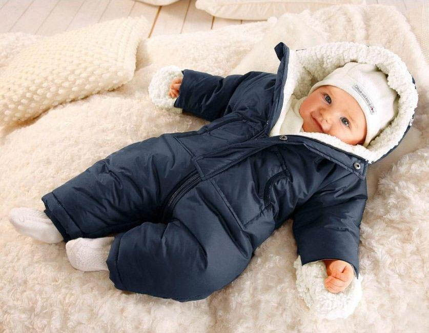 Рекомендации по подбору одежды для младенца зимой и осенью