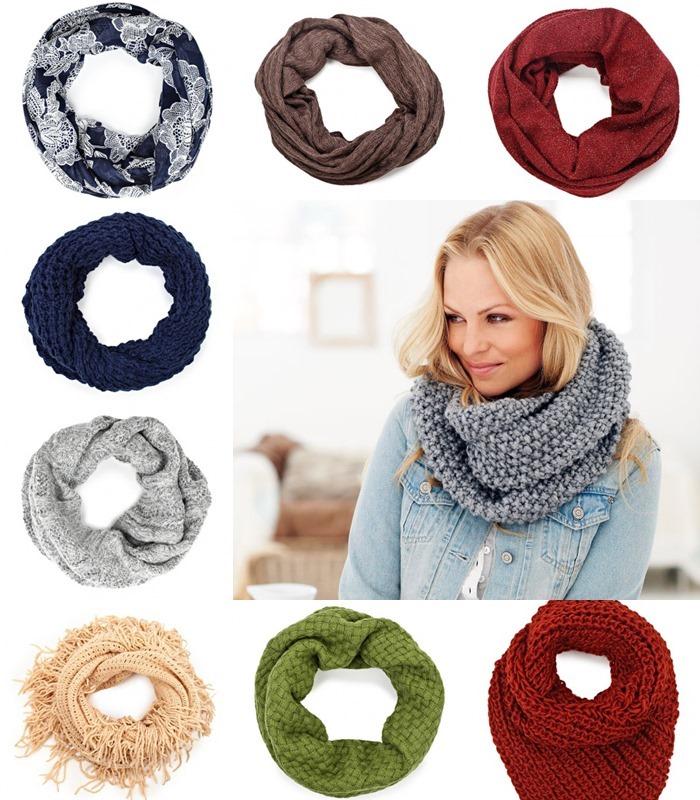 Виды шарфов и их отличия