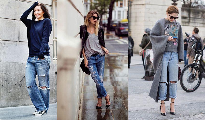 Какая обувь подходит под капри, бойфренды и рваные джинсы?