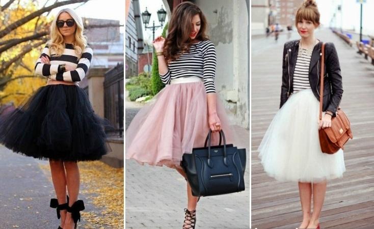 Какой цвет юбки в тренде?
