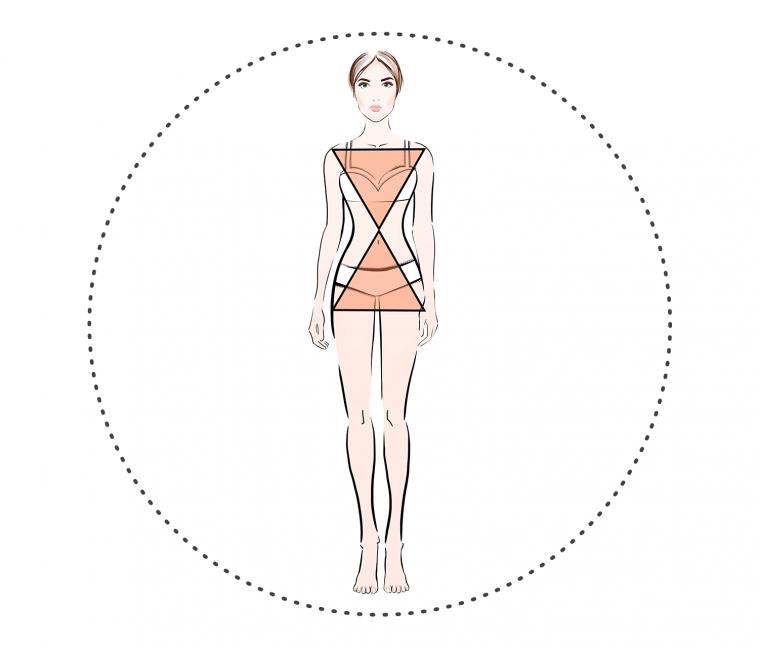 Как выбрать юбку по типу фигуры «песочные часы»