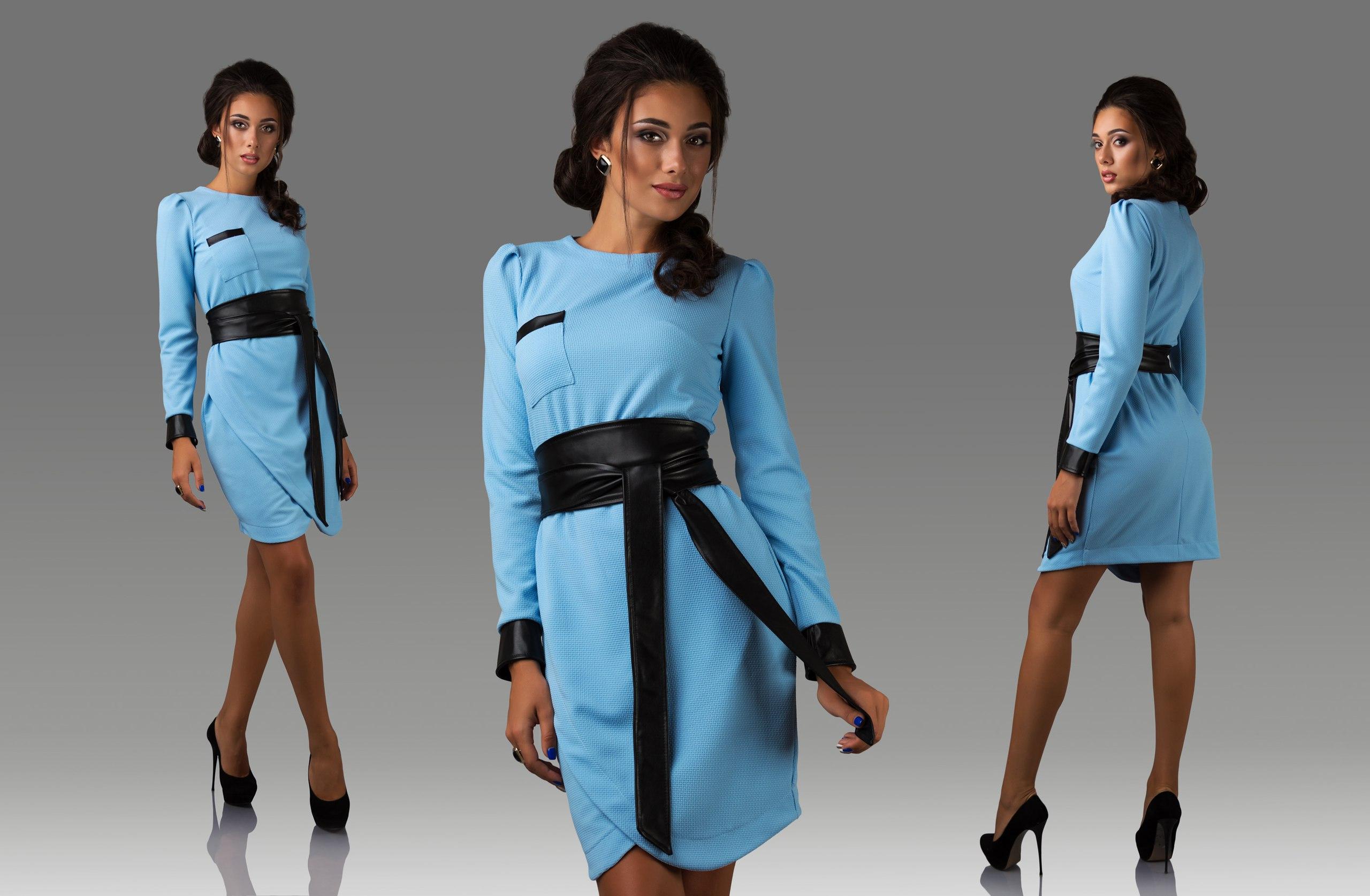 Как завязывать пояс на платье