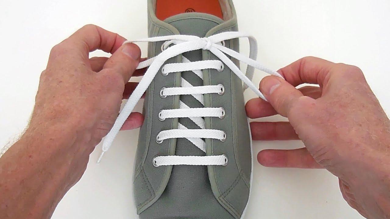 Как завязывать шнурки бантиком