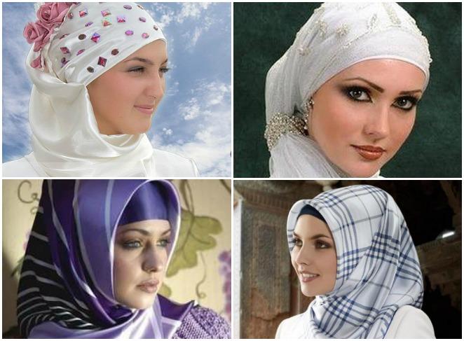 Как красиво завязать платок мусульманке