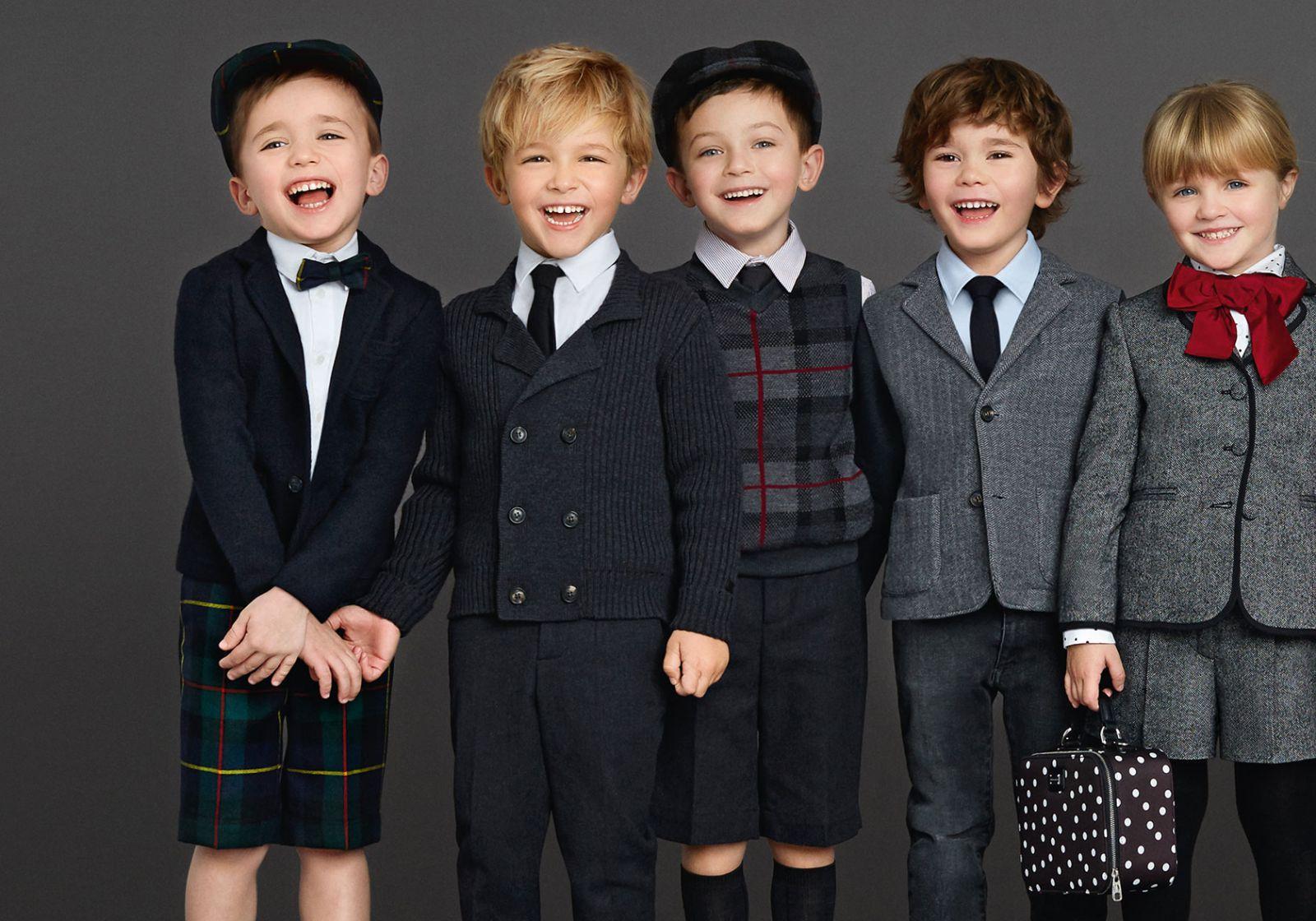 Как одеть мальчика к школе