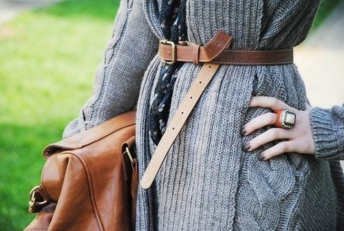 Как одеть ремень, с фото