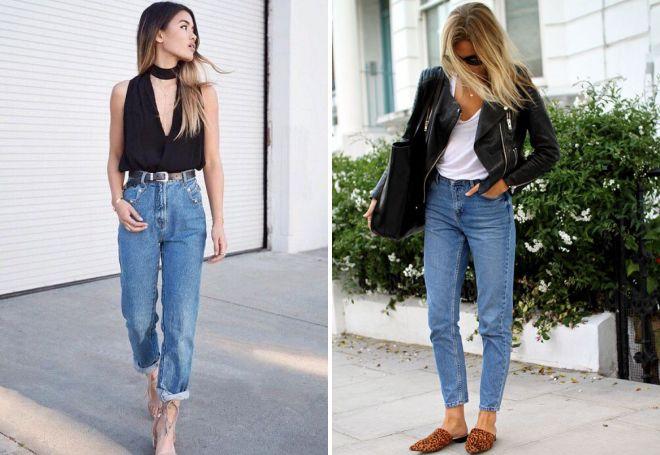 Кому идут стильные джинсы-бананы?