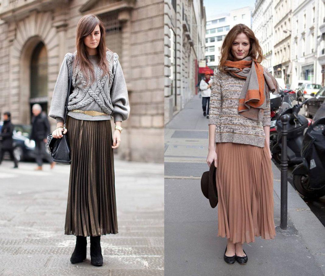 Модная расцветка, стильная плиссировка и незыблемая классика