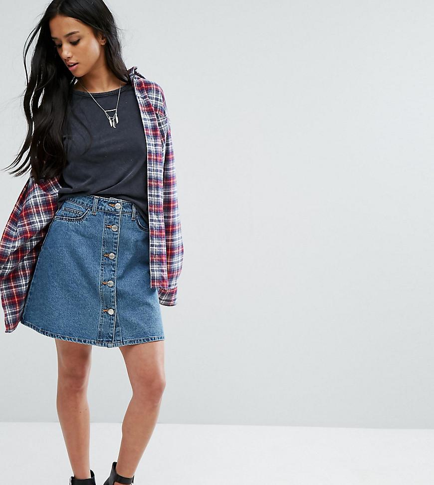 Модные джинсовые юбки – история возникновения