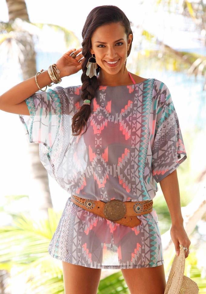 Модные женские туники для лета 2018 года