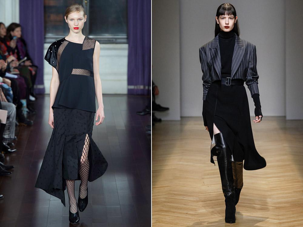 Модные юбки зима-весна 2018-2019