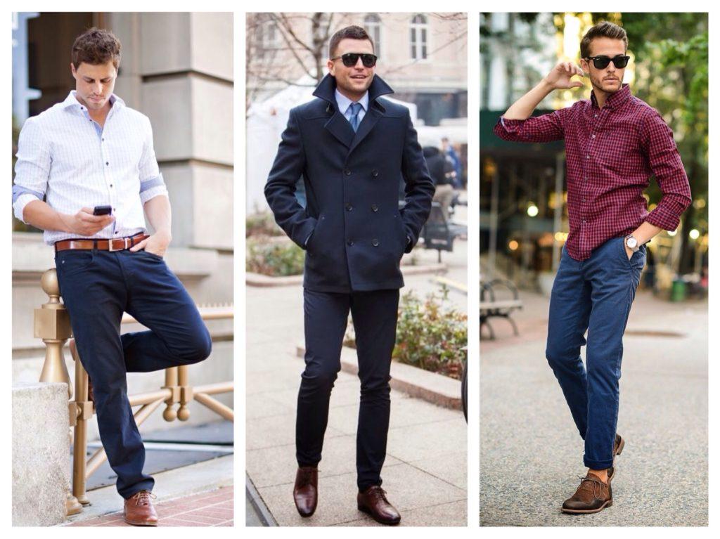 Мужские синие брюки: куда и как носить?