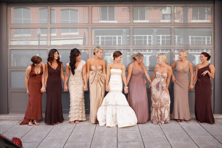 Основные принципы выбора наряда на свадьбу