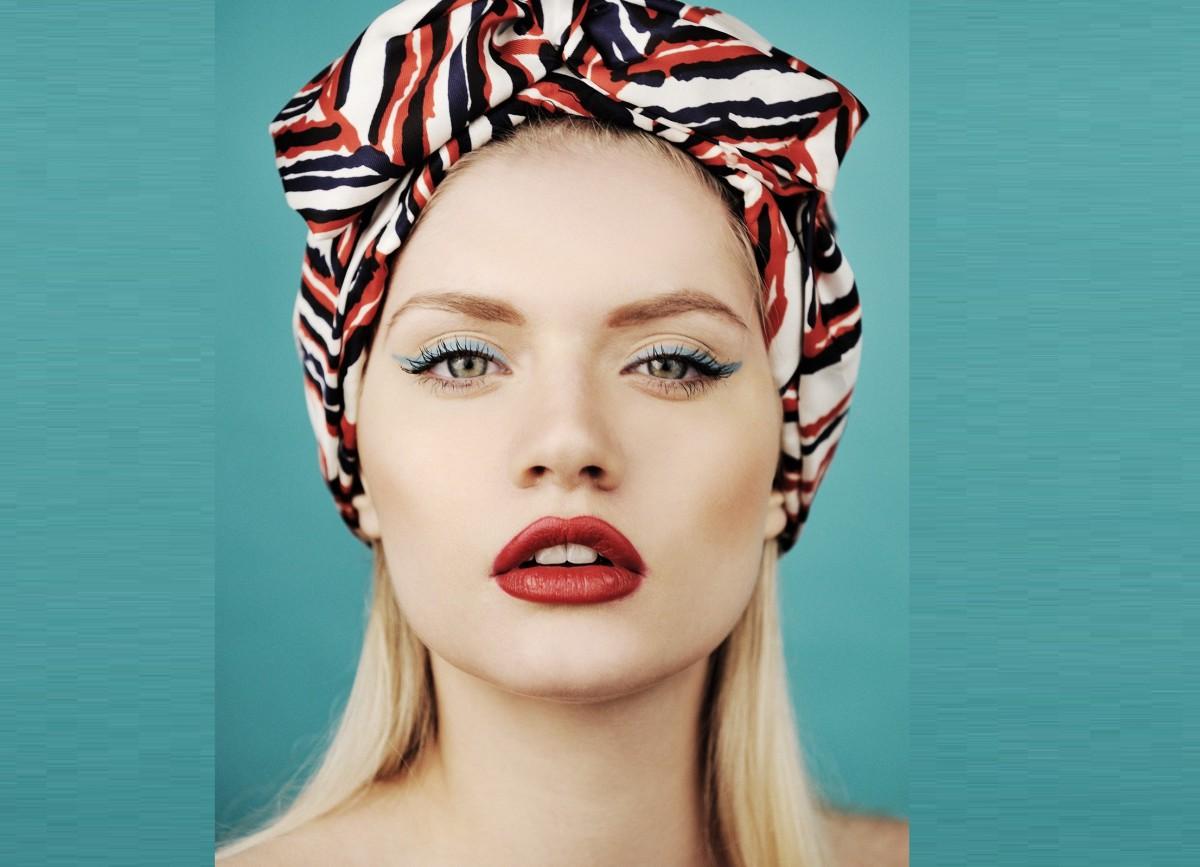 0c0adb42a925 Как красиво завязать платок на голове, с фото
