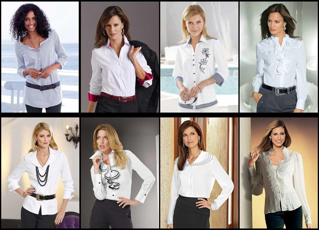 Разновидности женских рубашек