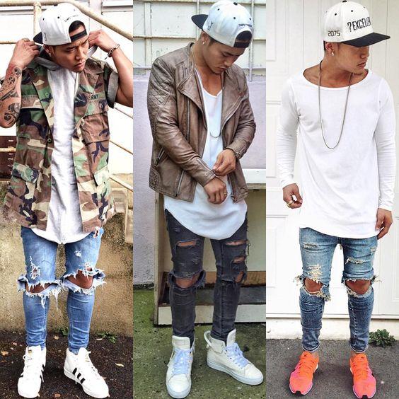 Рваные джинсы: картины моды предстоящего сезона