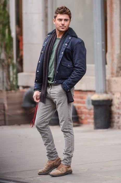 Серые джинсы мужские, с чем носить?