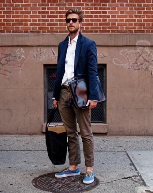 Слипоны мужские: с чем их лучше носить?