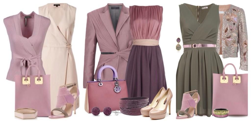 Сочетание цветов в одежде для женщин