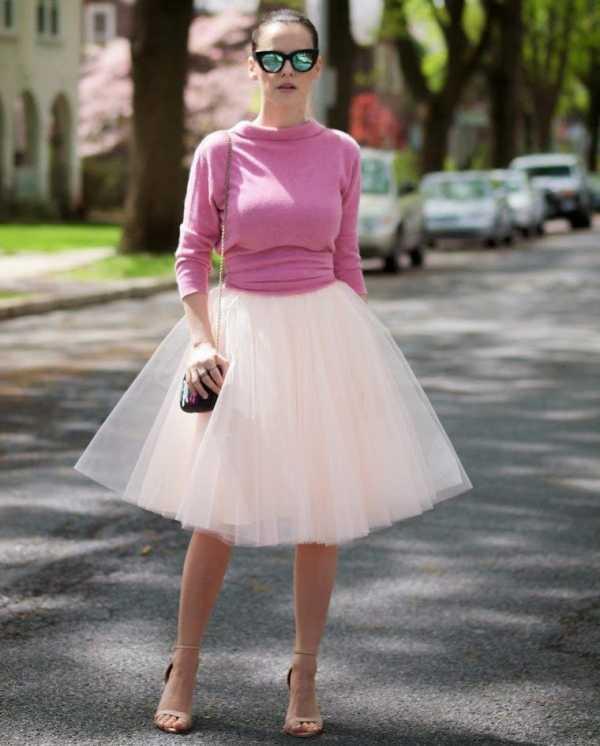 С какими аксессуарами носить юбку пачку