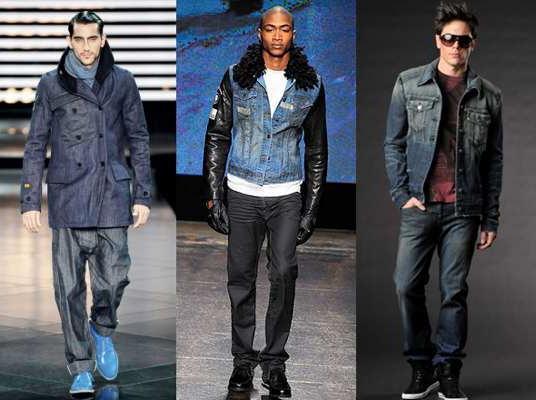 С чем носить джинсовую куртку мужчинам