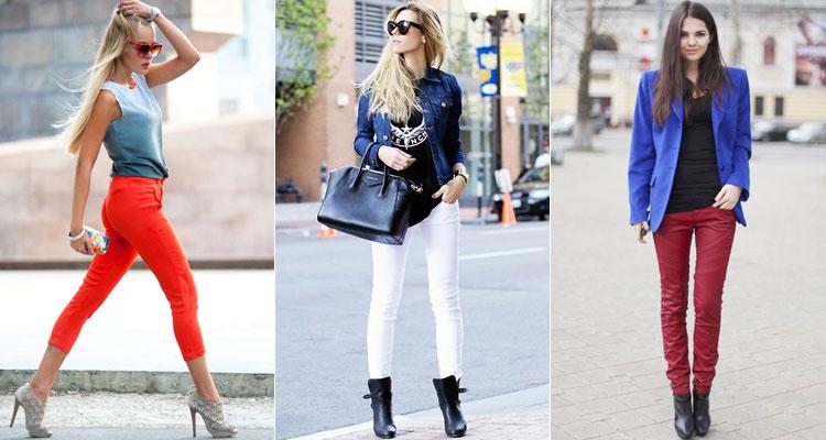 С чем носить джинсы в разное время года?