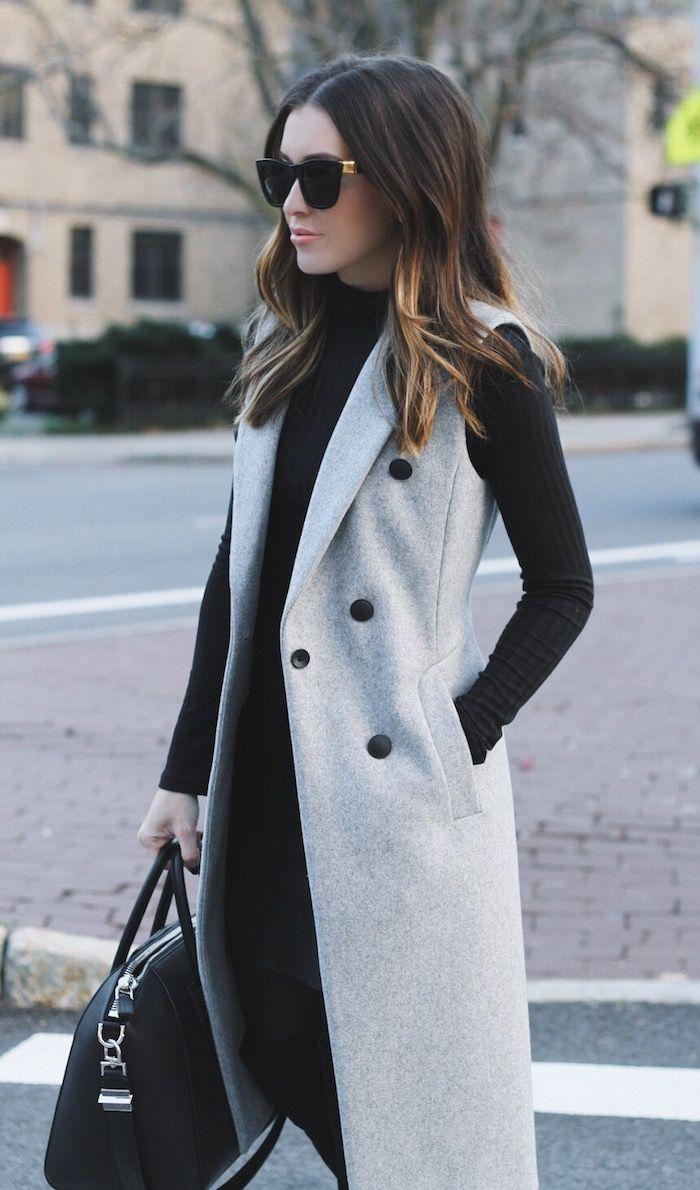 С чем носить жилет: повседневный стиль