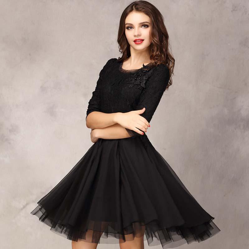 С чем носить платье