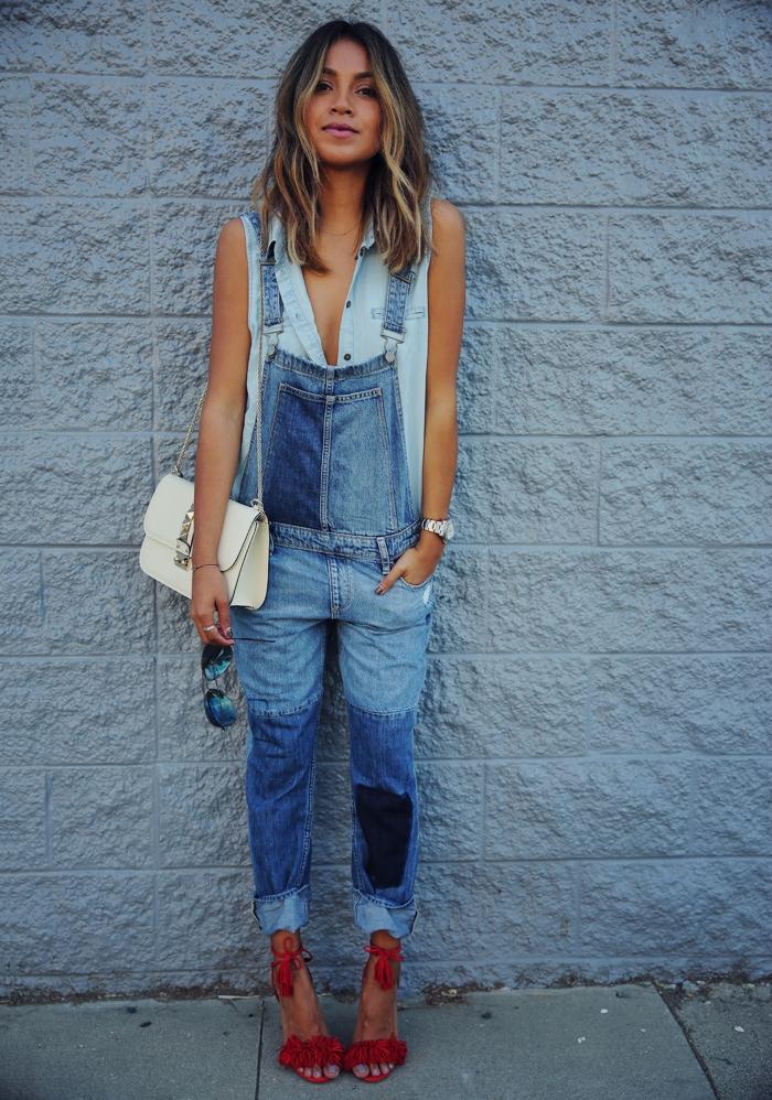 С чем стоит носить комбинезон, чтобы получить модный и стильный образ?