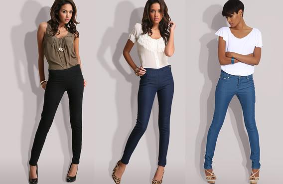 Узкие джинсы или брюки для похода в клуб