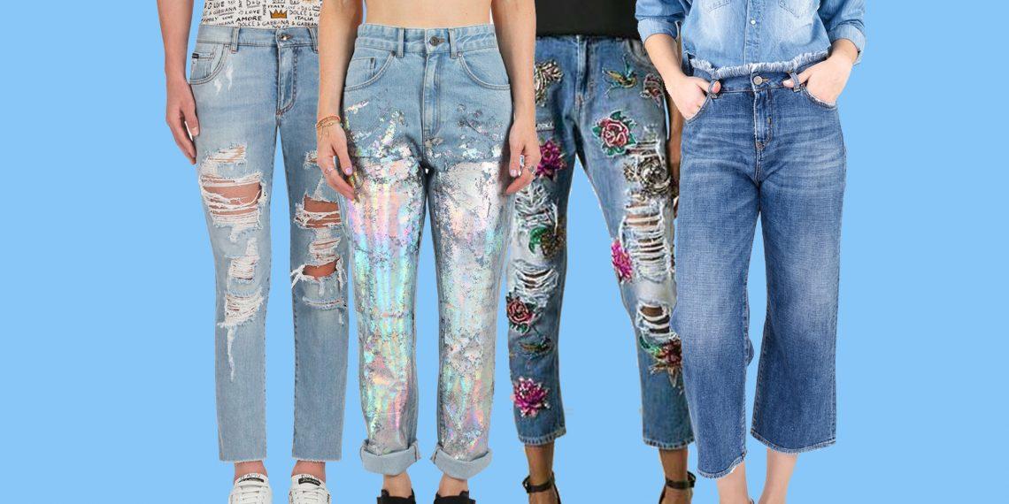 Что одеть с джинсами, с фото