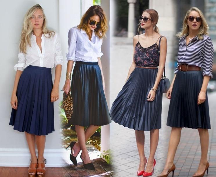 Что такое плиссированные юбки