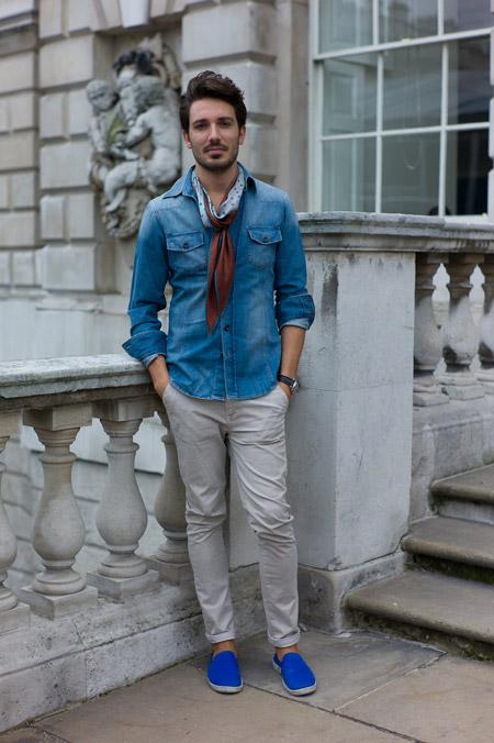 Эспадрильи мужские: с чем носить