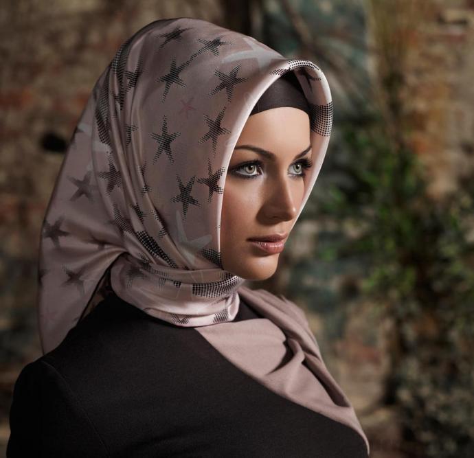 Как завязывать мусульманский платок